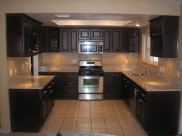 kitchen colors with dark cherry cabinets pictures of kitchens