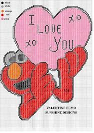 elmo valentines 46 best plastic canvas sesame images on sesame