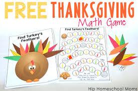 free printable thanksgiving math game hip homeschool moms