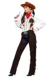 Halloween Costumes Women Size Cowgirl Chaps Size Costume