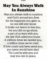 memorial poems for 74 best funeral poems images on funeral card messages