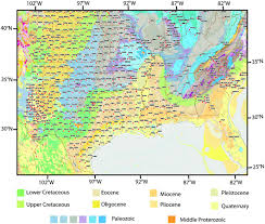 Map Of The Southern United States by A Model For Lg Propagation In The Gulf Coastal Plain Of The