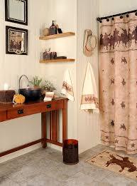 Western Bathroom Shower Curtains Hacienda Shower Curtain Picture
