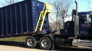 kenworth pickup trucks for sale peterbilt winch truck picking up frac tank youtube