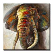 decorative artwork for homes seven wall arts 100 hand painted oil painting cute colorful animal