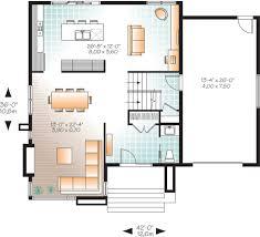 modern style house plan 3 beds 1 50 baths 1852 sq ft plan 23 2293 modern style house plan 3 beds 1 50 baths 1852 sq ft plan 23