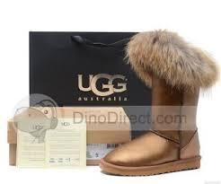 dianice high boots fox waterproof metallic gold fashionable ugg dianice high boots fox fur waterproof metallic gold fashion ugg