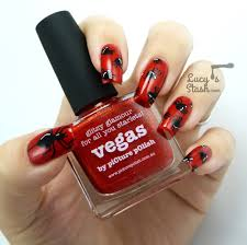 picture polish monday halloween spiders nail art over picture