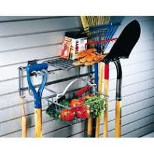 Garage Wall Organizer Grid System - big tool rack lots of storage in a simple design for use with