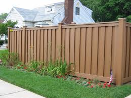 anti uv outdoor wood plastic composite garden fence cheap pvc