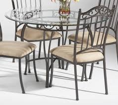 Wrought Iron Dining Room Tables Table Round Glass Dining Room Tables Asian Compact Elegant Round