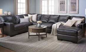 Sectional Leather Sofas With Chaise Living Room Furniture Warehouse Prices The Dump America S