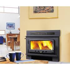 inbuilt wood heater fireplace