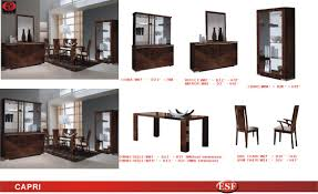 Formal Contemporary Dining Room Sets by Capri Dining Room Alf Italy Modern Formal Dining Sets Dining