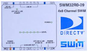 swm 32 directv multiswitch with 24v power supply