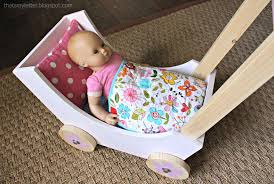 ana white wood doll pram or stroller diy projects