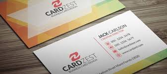 Simple Business Cards Templates Free Simple Latest Business Card Template Business Card Design