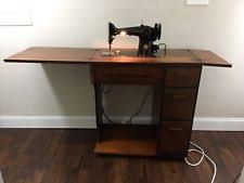 Singer Sewing Machine Desk Singer Sewing Machine Cabinet Ebay