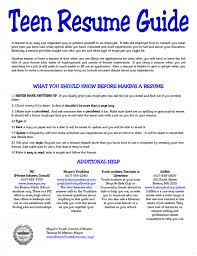 teen resume exle resume exle for screnshoots general purpose teen marevinho