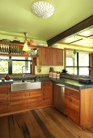 cherry cabinets with granite countertops custom wood kitchen