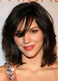 medium length hairstyles for fuller faces 20 haircuts with bangs for round faces hairstyles haircuts