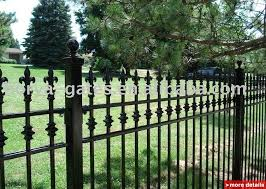 Decorative Outdoor Fencing Metal Garden Fencing Gardening Ideas