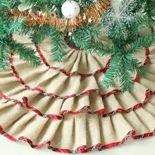 burlap christmas tree skirt christmas christmas nautical burlap tree skirtsnautical