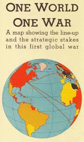 World War One Map by 1942 Fortune Map