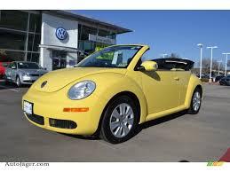 volkswagen buggy yellow 2008 volkswagen new beetle s convertible in sunflower yellow