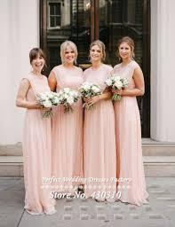 cheap pink bridesmaid dresses cheap chiffon bridesmaid dresses image collections