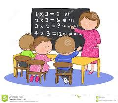 child sitting clipart children sitting in math class
