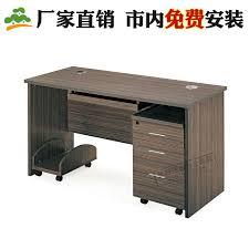 Computer Executive Desk Minimalist Modern Office Furniture Company Executive Desk Wood