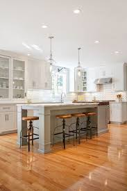 kitchen island with posts budget kitchen faucets and sinks