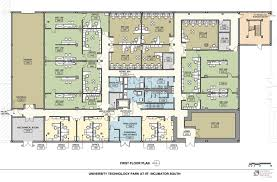 floor plan com lab office floor plans