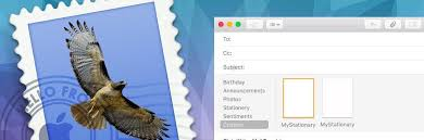 create custom html email signature templates in macos mail