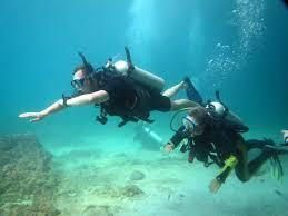 enriched air nitrox diver padi diving koh phi phi
