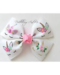 hair bows for here s a great deal on unicorn hair bow bows for toddlers sleepy