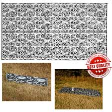 Outdoor Camping Rugs by Rv Patio Rug 8x16 Indoor Outdoor Carpet Resistant Reversible