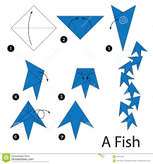 Step By Step Origami For - how to make origami fish step by step