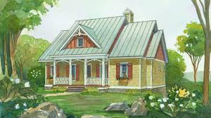 small cabin plans with porch 18 small house plans southern living