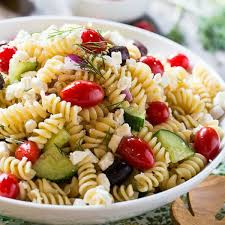 salad pasta greek pasta salad recipe spicy southern kitchen