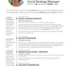 Social Media Community Manager Resume Precious Social Media Manager Resume 15 Abigail Gilman Resume