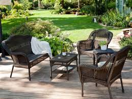 Wrought Iron Patio Furniture Sets by Patio 26 Wrought Iron Patio Furniture With Red Cushions And