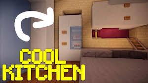 minecraft pocket edition build tutorials episode 2 kitchen youtube