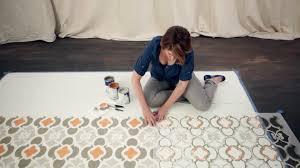 how to paint a hardwood floor video diy