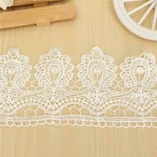 lace ribbon by the yard 2pcs set 1yard trim lace ribbon vintage cotton crochet edge diy
