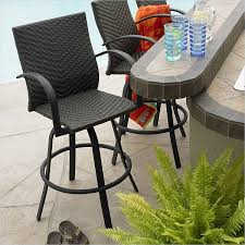 Outdoor Swivel Bar Stool 5 Bar Stool Designs For Indoor Outdoor Use