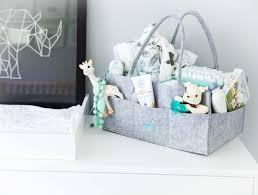 baby diaper caddy organizer nursery storage bin for diapers