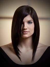 medium straight layered hairstyle women medium haircut
