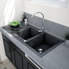 evier de cuisine en granite evier cuisine granit cuisine evier cuisine granit noir avec orange